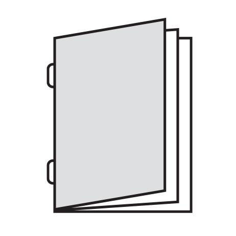 Brochures Geniet - met Omslag
